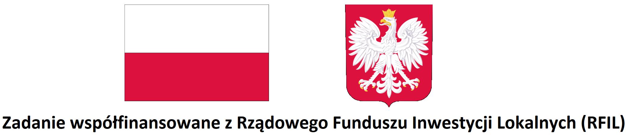 Zadanie współfinansowane z Rządowego Funduszu Inwestycji Lokalnych (RFIL)